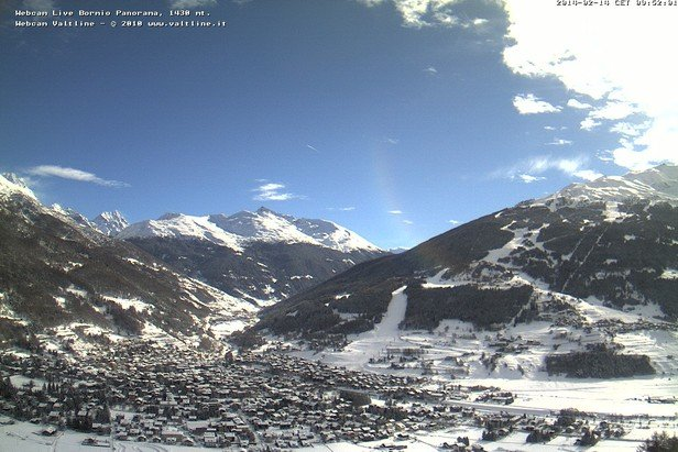 Bormio, Neve 14 Feb 2014