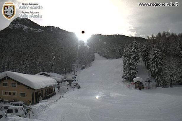 Colle di Joux, Neve 14 Feb 2014