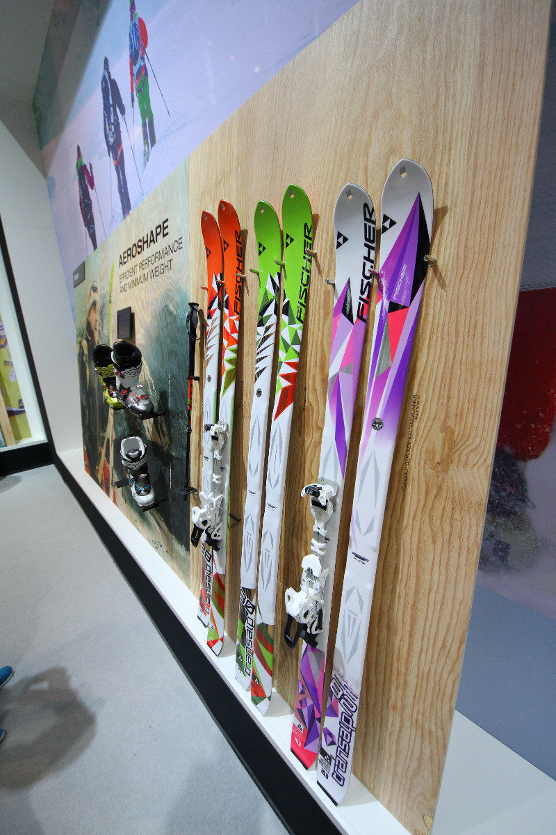 Fischer skis at ISPO 2014 - © Skiinfo