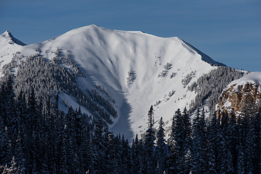 Highland Bowl is the epicenter of Colorado powder skiing. - © Liam Doran