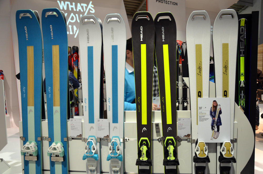 ISPO 2014 winner: Head's new Joy Collection for 2014/15 - © Skiinfo