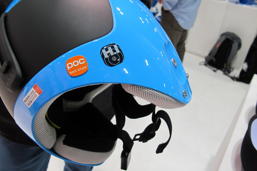 Made with ski racers in mind, the Skull Orbic H.I. MIPS from POC is a multi–impact helmet with a sensor that lets you know when it's time to replace. - © Heather B. Fried