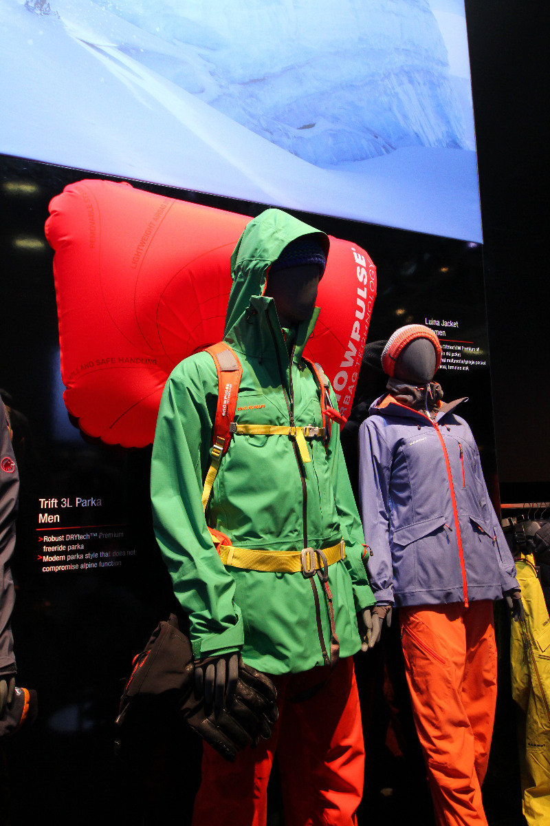 Mammut stand at ISPO 2014 - © Skiinfo
