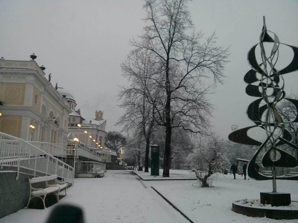 Merano, Neve fresca 14 Gen 2014