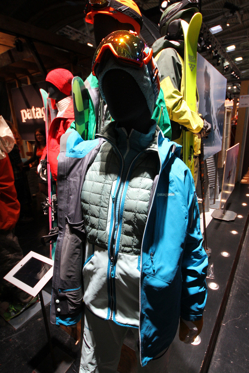 Patagonia at ISPO 2014 - © Skiinfo