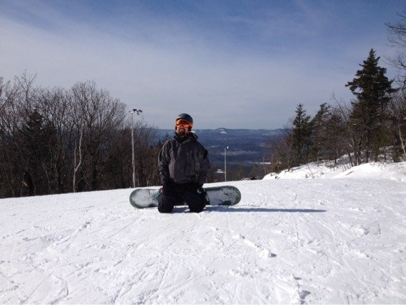 Sweet woods all open and fab. !!! Ride on!