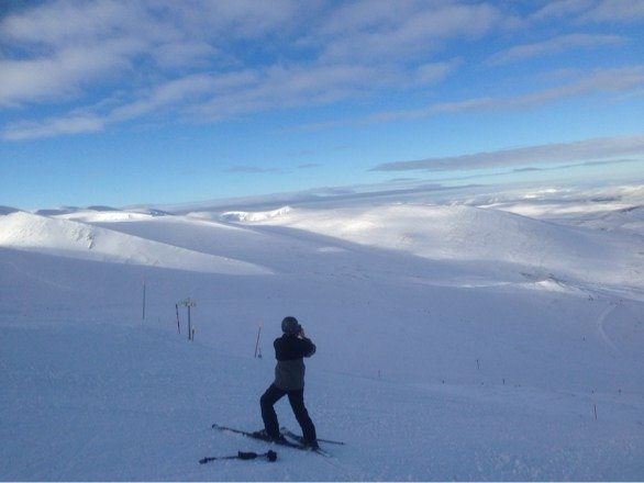 Skied Cairngorm last 3 days. Great skiing but very busy. Great snow 18/19 Feb, hard packed on 20 Feb. White Lady was great.