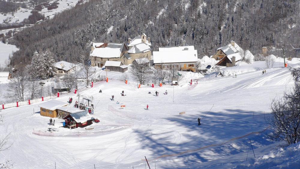 Aperçu du front de neige de Serre-Eyraud - © Stéphane GG