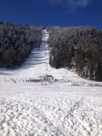 Aujourd'hui super neige!
