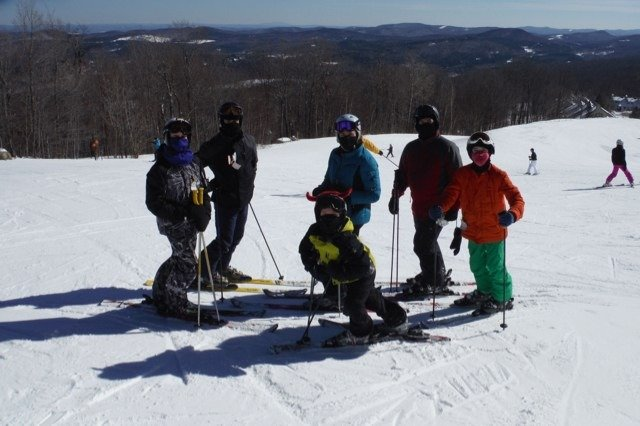 Okemo is a magical place for families.  The service and attention to detail makes this mountain resort special.  Great ski conditions all weekend.