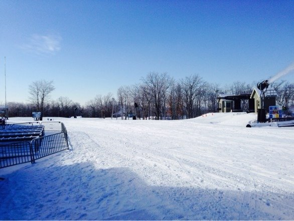 Another bluebird day at jfbb