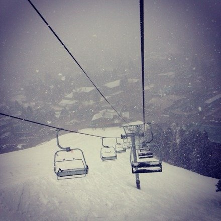 """Great Sking.. Spring Break 2014... Sun Is Out Today and Over 5"""" of Powder On the Top Of The Mountain... Red River Rocks!!"""