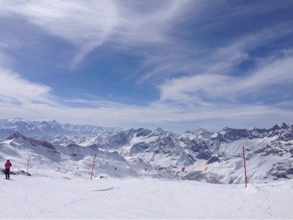 11,000 ft fantastic conditions