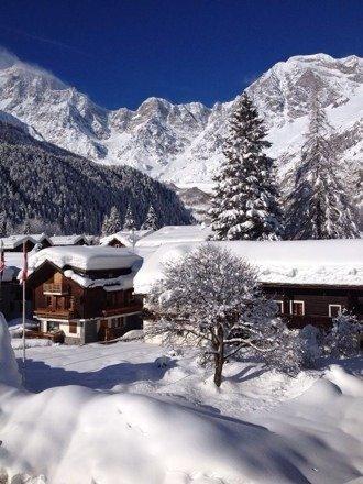 Macugnaga - Neve di Marzo 2014