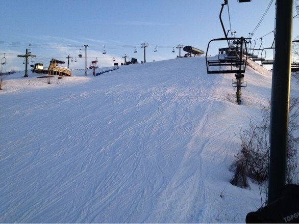 Bsweet was rockin yesterday.  Incredible conditions as always!  Keep up the great work.