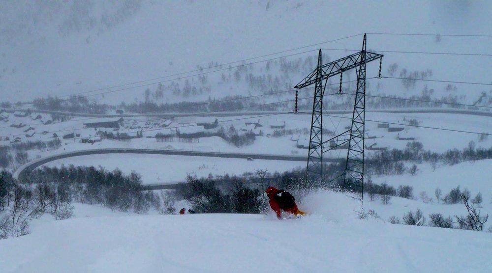 Her er det mer enn nok snø - © Pelle Gangeskar