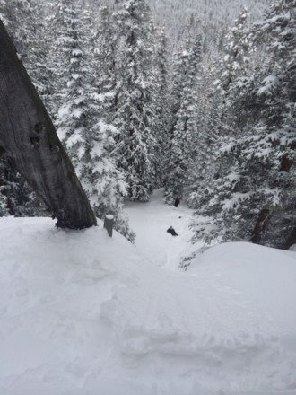 Almost as good as the pow days back in January, plenty of spring gnar
