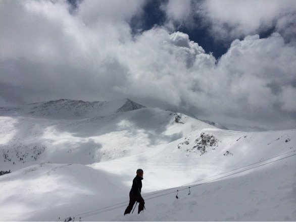 Imperial- crazy clouds! Great day:)