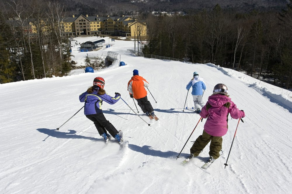 Skiers with kids in-tow praised Okemo for going above and beyond to make families feel welcomed and appreciated. - © Okemo Mountain Resort