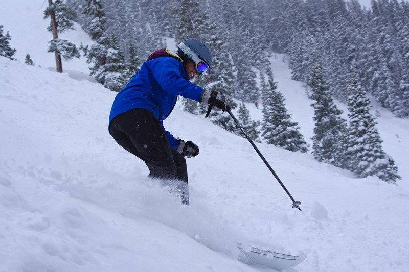 Keeping them parallel. - © Arapahoe Basin