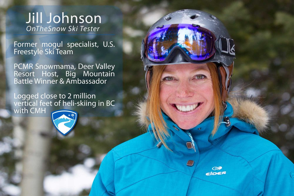 """Jill Johnson, 39. If you could ski with anyone (past, present or future) who would it be? """"My 90-year-old self, my future great, great, grandchildren and Stein Ericksen of Norway at the height of his career."""" - © Cody Downard Photography"""