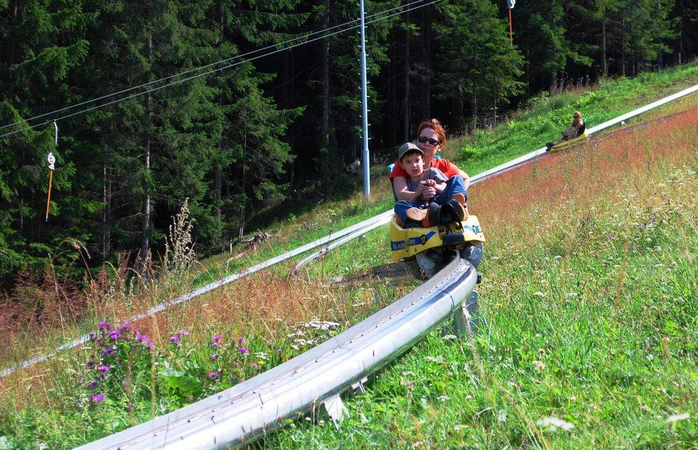 Najstrmšia bobová dráha na Slovensku sa nachádza v Pavčinej Lehote - © Pavčina Lehota - Žiarce