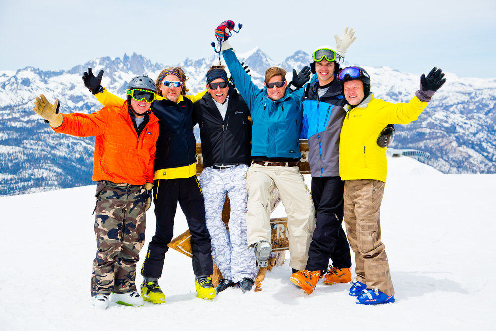 Put your hands up if you love Mammoth! - © Peter Morning