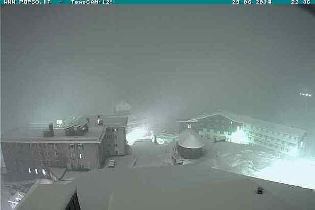 Neve d'estate sulle Alpi - Passo Stelvio 29 Giugno 2014