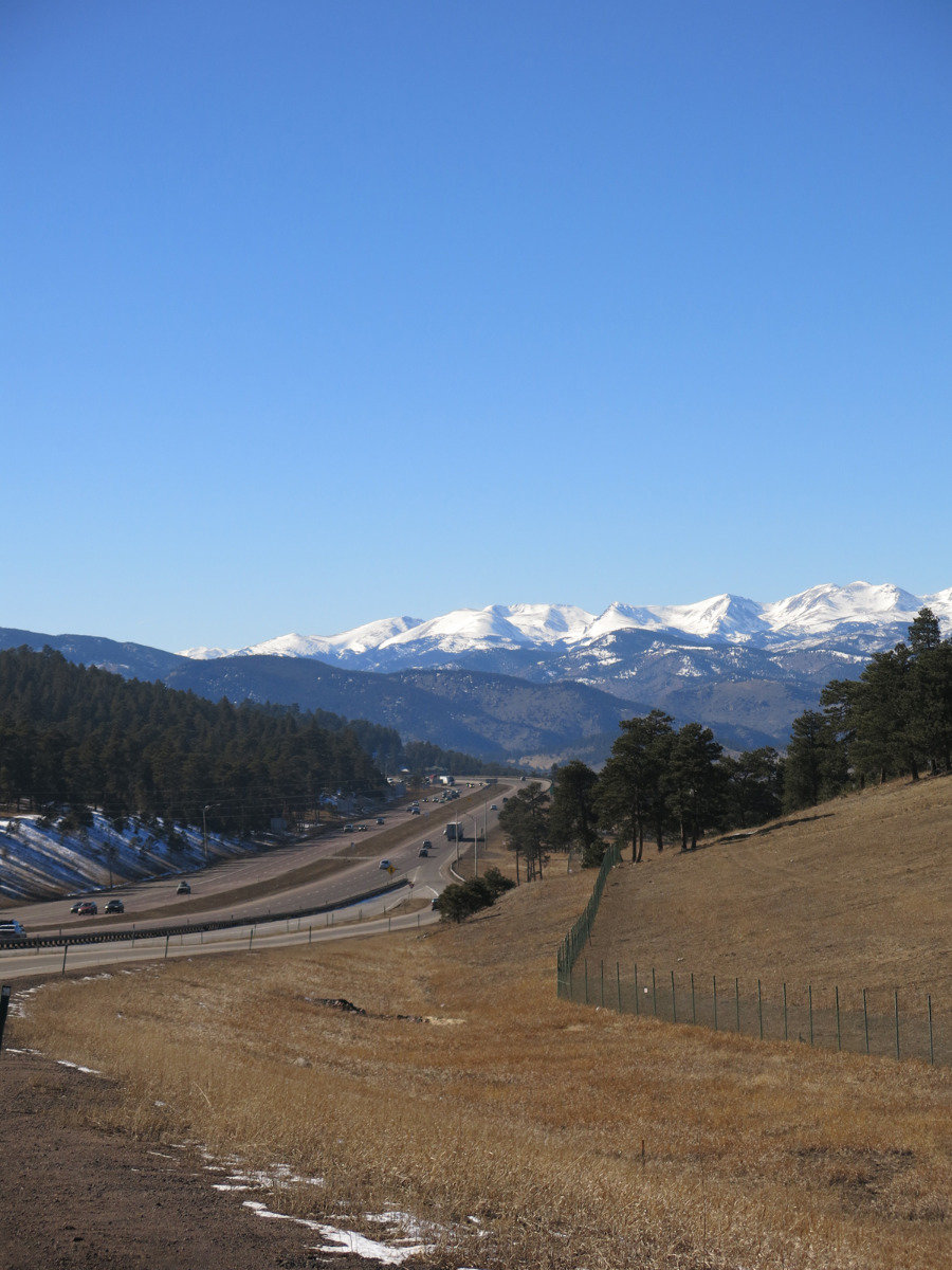 I-70 near Denver, Colorado - © Micaela Romani