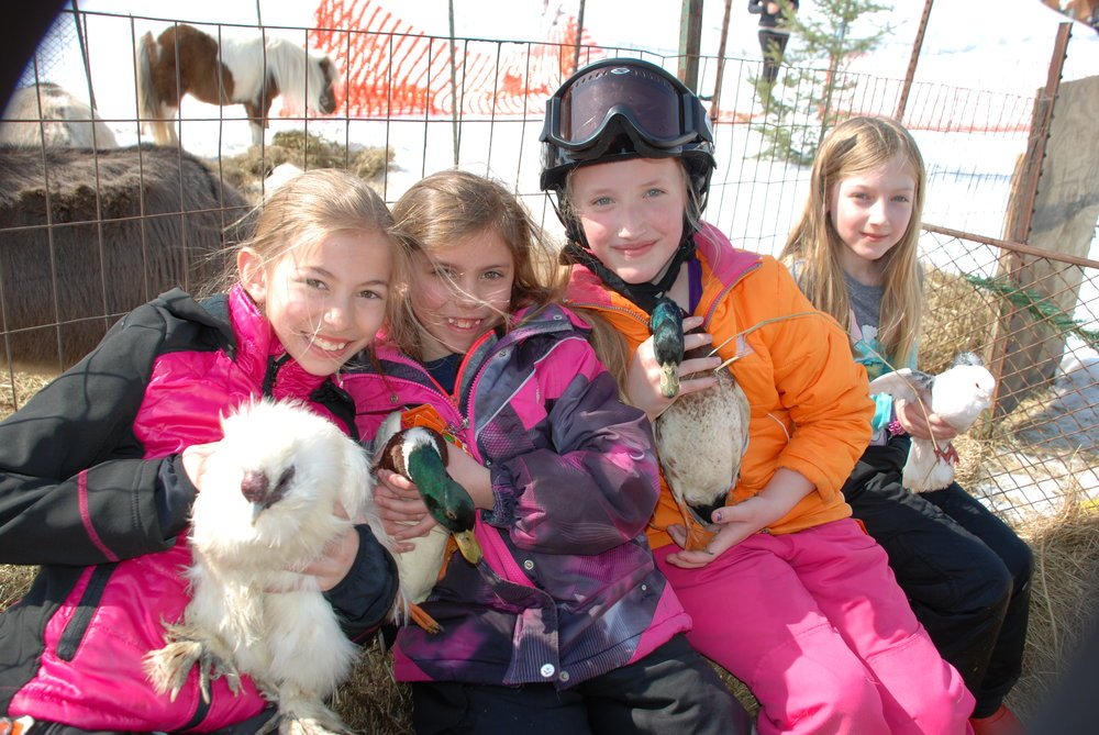 There's plenty for kids to do at Ski Brule, on and off the slopes. - © Ski Brule