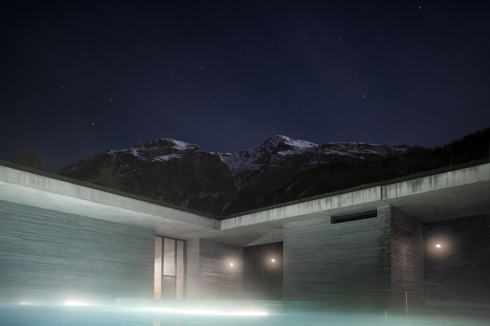 Einen Ausflug Wert: Therme in Vals - © Therme Vals
