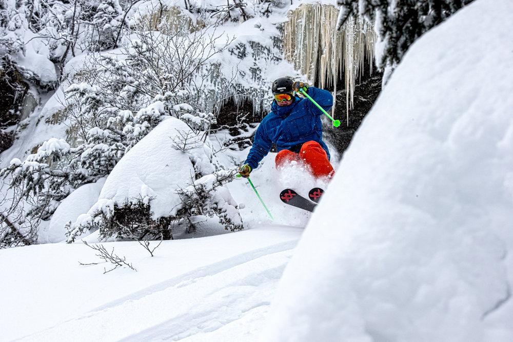 Stowe perfected! Skier Seth Morse. - © Liam Doran