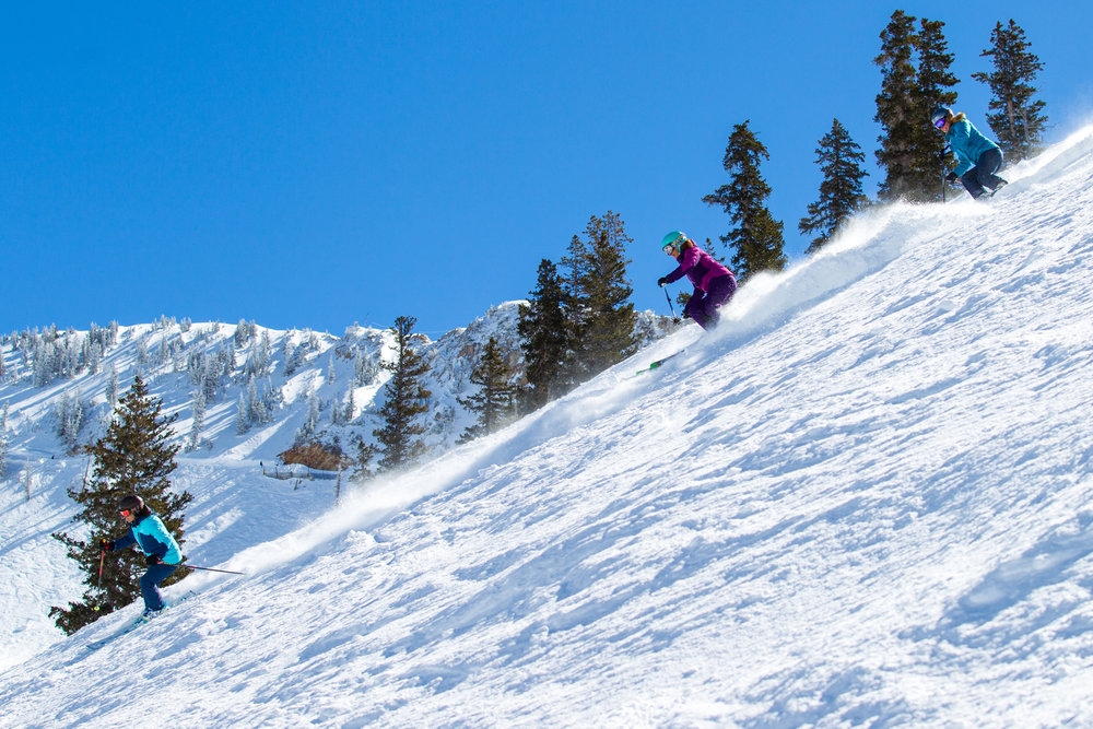 The views from Ski Test day 3. - © Cody Downard Photography