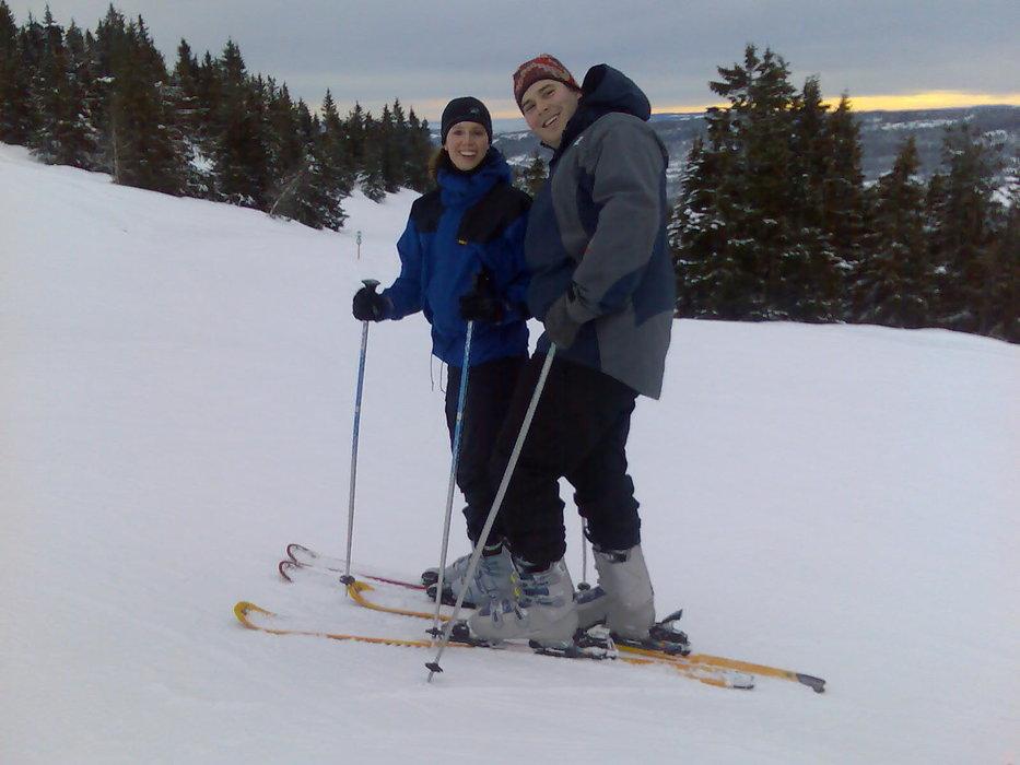 På ski | Kona og meg - © Erlend @ Skiinfo Lounge