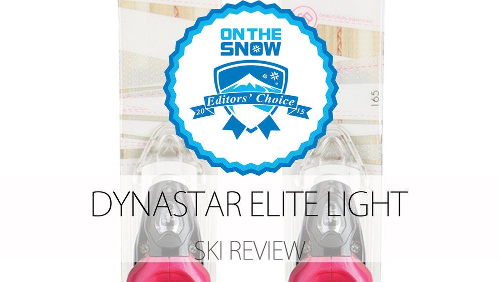 Dynastar Elite Light, a 2015 Editors' Choice Women's Frontside Ski - © Dynastar