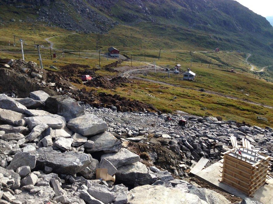 Det blir spennende å kjøre Røldal når den nye stolgheisen er klar. - © Røldal
