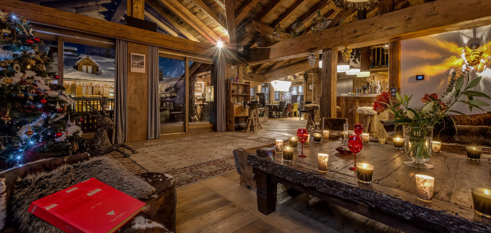 Luxury lounge at Chalet Lhotse, Val d'Isere - ©Consensio