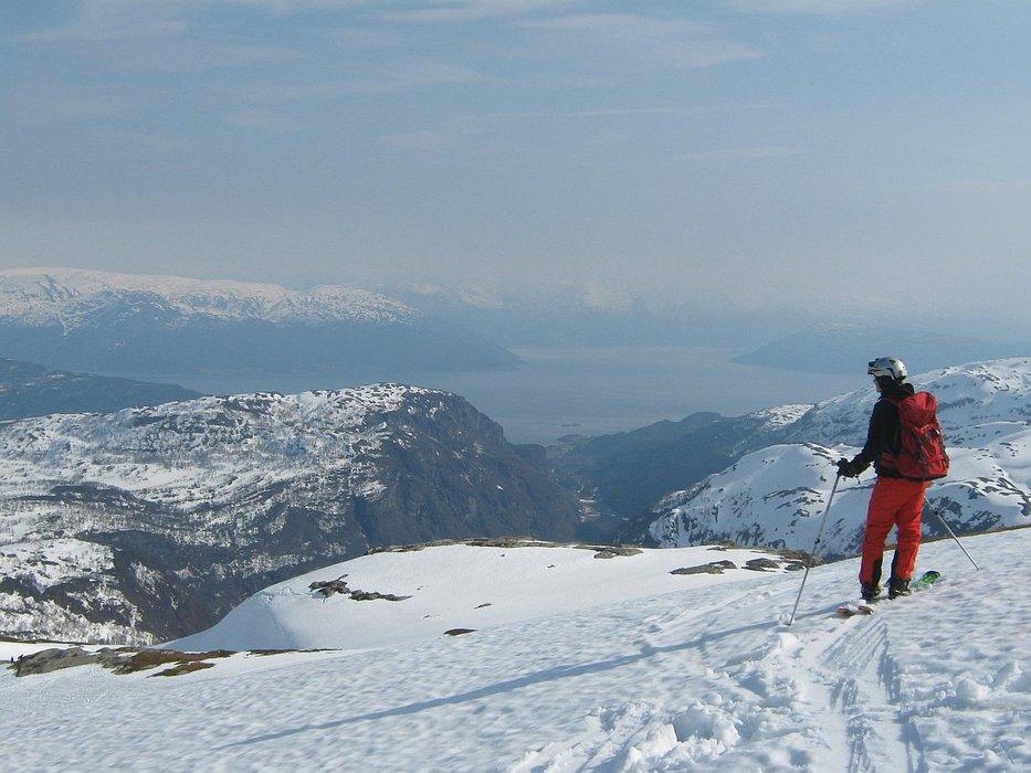 På vei ned fra Gråskorvenuten - © Margaret @ Skiinfo Lounge