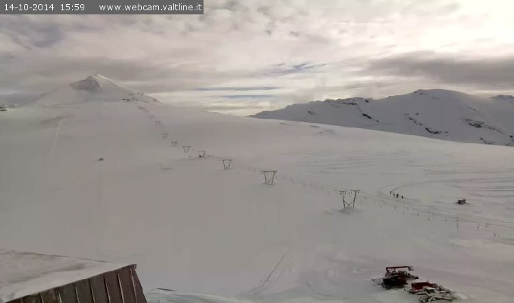 Passo Stelvio, neve fresca 14 Ottobre 2014 - © Passo Stelvio