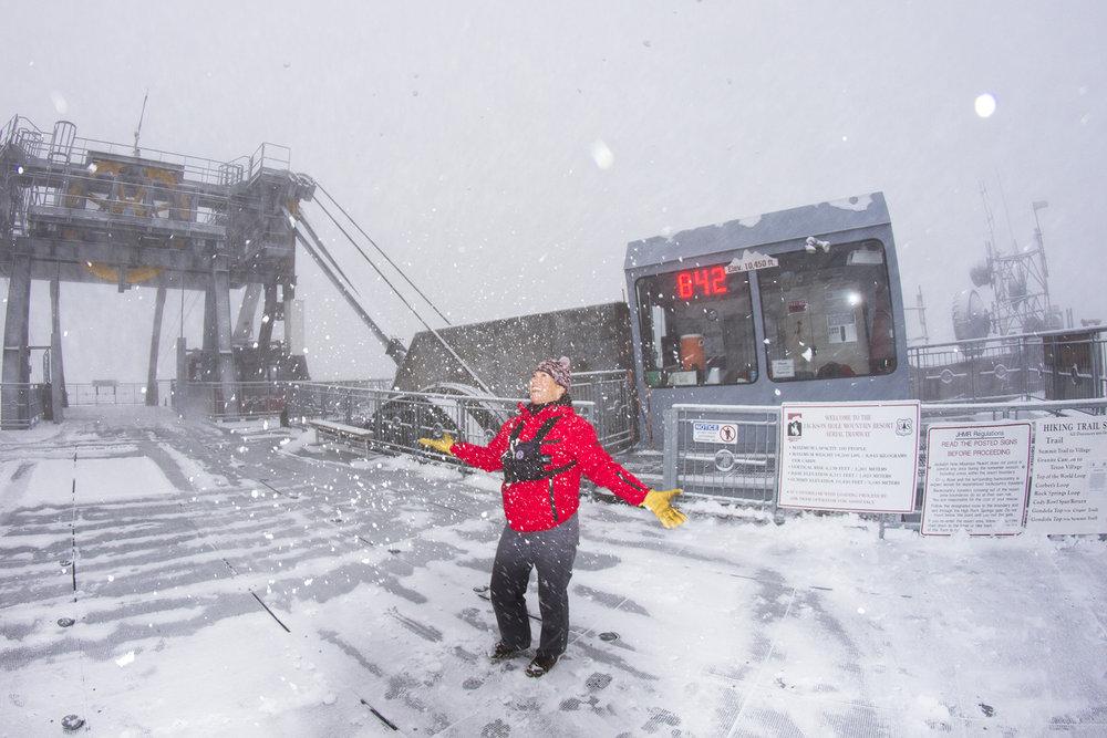 Jackson Hole Ski Season kicks off in fewer than 60 days. Let it snow! - © Jackson Hole Mountain Resort