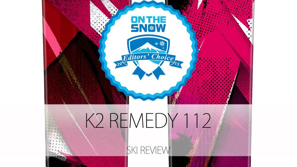 K2 Remedy 112, a 2015 Editors' Choice Women's Powder Ski. - © K2