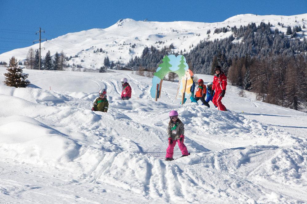 ABC per una giornata sulla neve con i bambini - © Savognin Bergbahnen AG