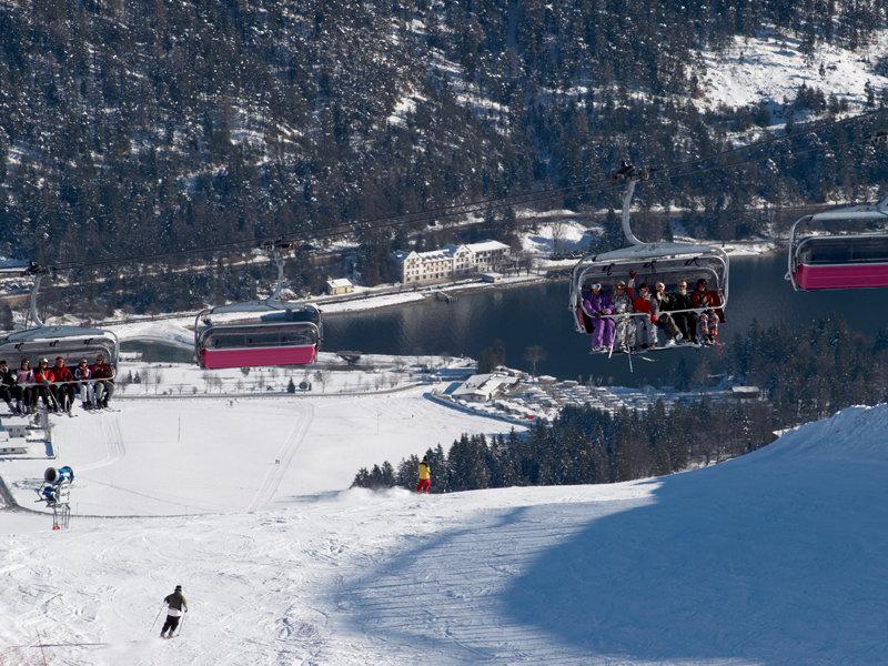 Skifahren in Achensee-Christlum - © Achensee Tourismus