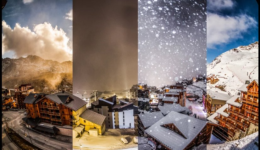 Val Thorens - Time lapse - © Dré d'dans production