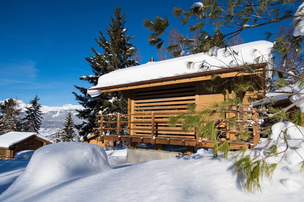 Hébergement en chalet à Vercorin - © Val d'Anniviers Valais