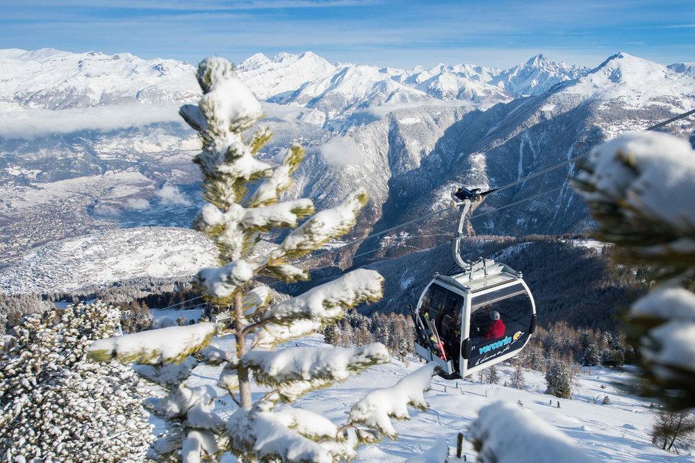 En route pour les pistes de ski de Vercorin - © Val d'Anniviers Valais