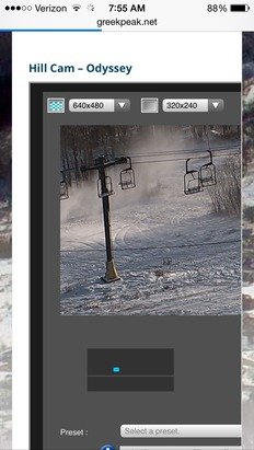Snowmaking has been on since 4am!!!