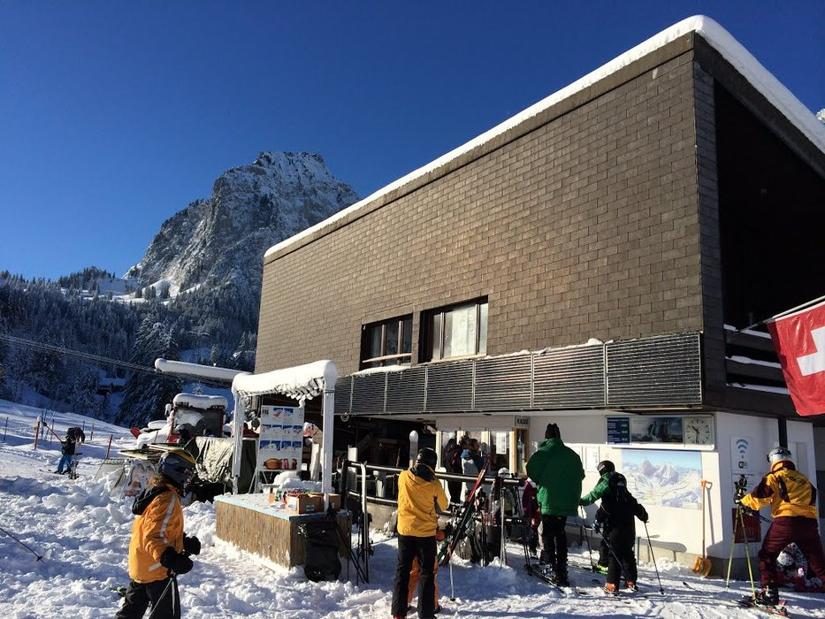 Meeting point of the skiers - © brunnialpthal