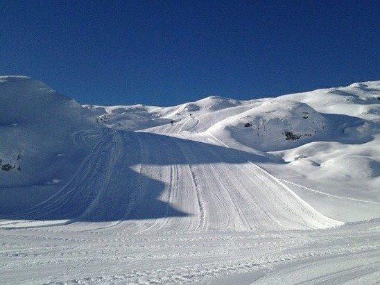 Sur les pistes de ski de Colere (ITA) - © User: Mitchonair