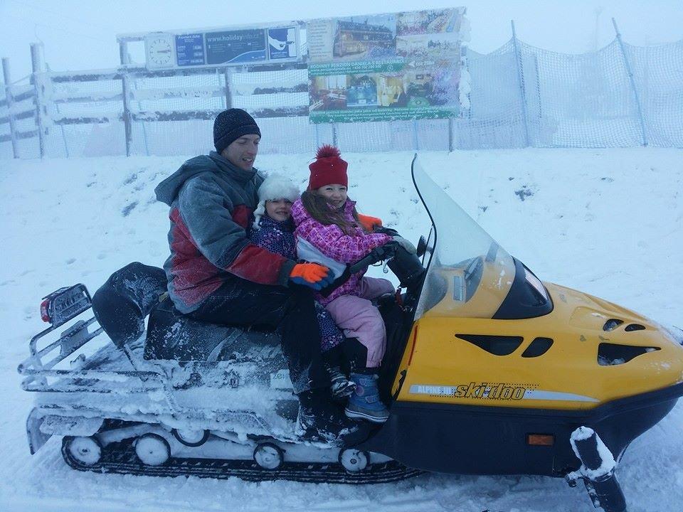 Boží Dar, Novako: První lyžovačka zimy 2014/15 (29.11.2014) - © facebook.com/Novakoareal